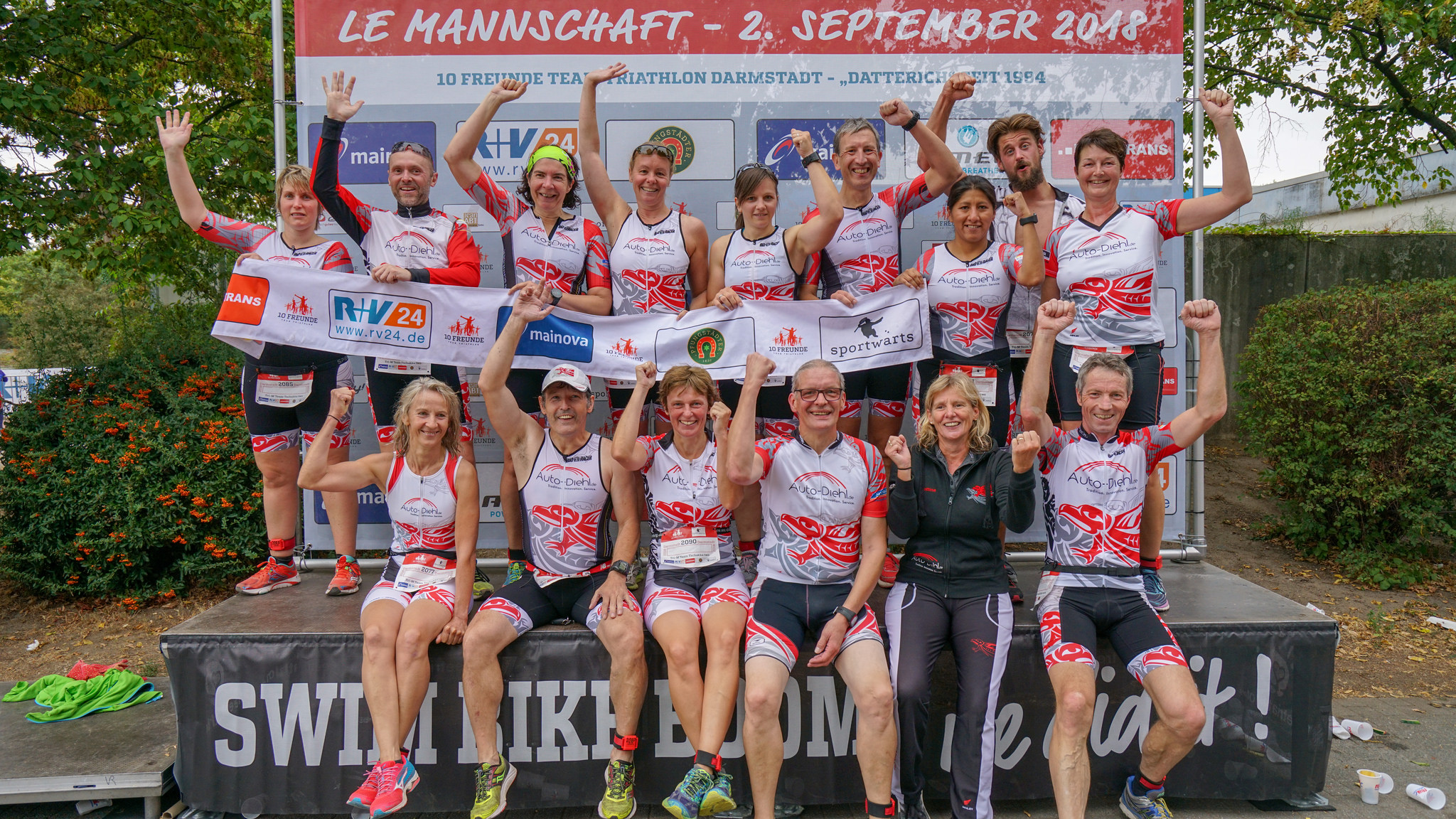10 freunde triathlon frankfurt 2019