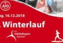 Wer stört sich schon am Wetter? WLS ALten Buseck Teil 2 und Aachener Winterlauf