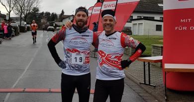 Winterlaufserie Alten Buseck schließt mit dem Halbmarathon