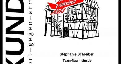 Hardcore Lady Stephanie Schreiber trotz der Hitze in Schwalbach