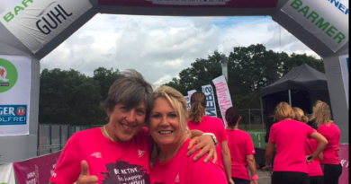All in Pink; Barmer Women's Run Frankfurt
