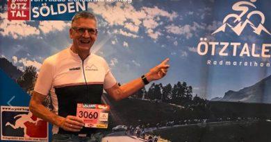 No mountain high enough: Klaus Eckhard