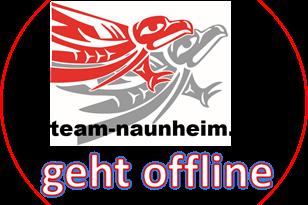 TEAM-NAUNHEIM geht vorübergehend offline !