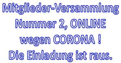 Neue MV am 19.06.2020 – ONLINE