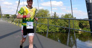 Alleine zusammen: Michael Wagner läuft Mainzer Gutenberg (Halb-)Marathon an der Lahn