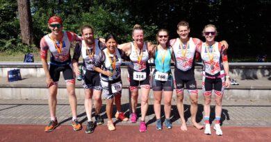 Topfit in die Triathlon-Wettkampfsaison gestartet: MöWathlon und Licher Cross