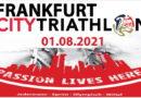 Frankfurt City Triathlon 2021 – alte Hasen und Rookies gemeinsam unterwegs in Frankfurt