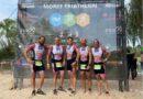 5. HTL-Mannschaft beim Moret Triathlon, Thomas Lang beim IRONMAN 70.3 Italy Emilia Romagna und Sanddornlauf an der Lahn