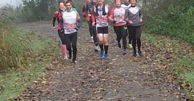 Endlich wieder! MHC Crosslauf Leihgestern,  3 glückliche Marathonmädels, feine Sonntagmorgen-Trainings-Läufe