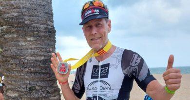 Thomas Lang finished den zweiten 70.3 Triathlon innerhalb von zwei Wochen